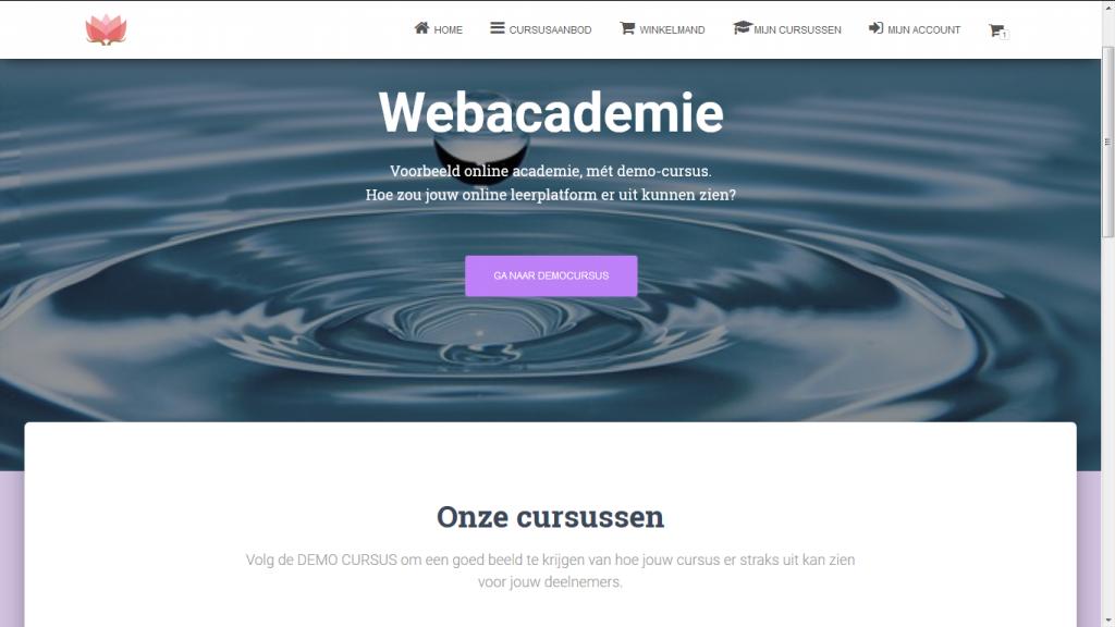 demo webacademie